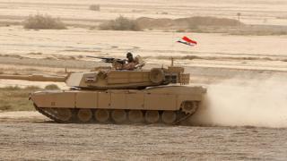 tanque estadounidense en Irak