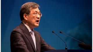 Kwon Oh-Hyun co-chief executive officer of Samsung Electronics