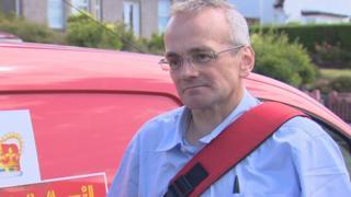 Postman Alan Quinn