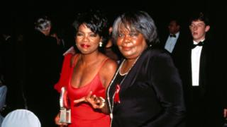 Oprah Winfrey and her mother, Vernita Lee, Academy Of Television Arts and Sciences Hall Of Fame, Walt Disney World, Orlando, USA (Oct 1994)