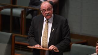 Australian Liberal MP Warren Entsch