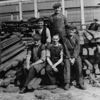 Head Wrightson workers 1951