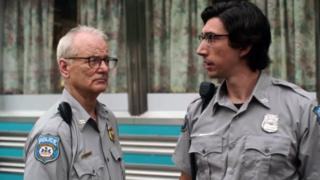 Bill Murray and Adam Driver