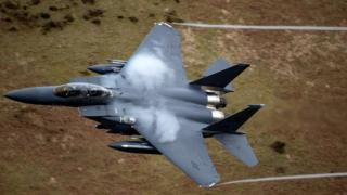 F15 in flight