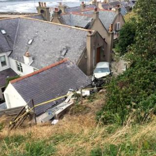 Gardenstown crash