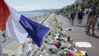 Nice'de saldırının düzenlendiği Promenade des Anglais
