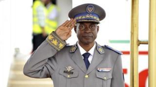 Coup leader Gen Gilbert Diendere