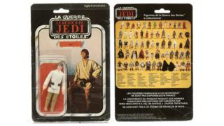 Luke Skywalker toy