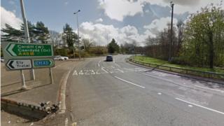 Culverhouse Cross roundabout