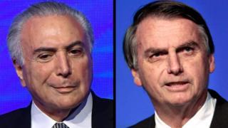 Temer e Bolsonaro
