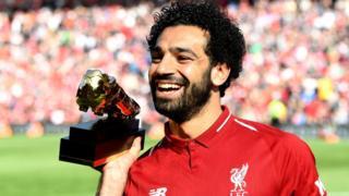 Mohamed Salah - Man of di match