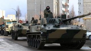 رژه سالانه یادبود جنگ جهانی دوم در سراسر روسیه برگزار می شود