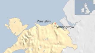Ffynnongroyw map