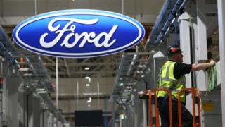 Ford production line at Dagenham