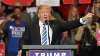 Rais wa Marekani Donald Trump anasema muda wa uvumilivu wa kimikakati kwa Korea Kaskazini umekamilika sasa.