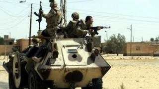 سيناء جيش