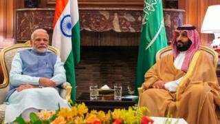 مودی اور محمد بن سلمان