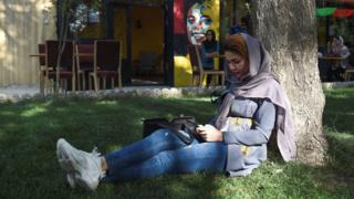 دختران دانشگاه کابل