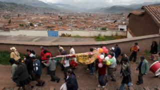 Жители Куско