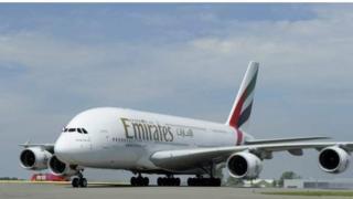 Emirates dey based for Dubai
