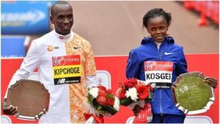 Eliud Kipchoge et Brigid Kosgei, deux des meilleurs athlètes kényans, ne prendront pas part aux Mondiaux d'athlétisme 2019.