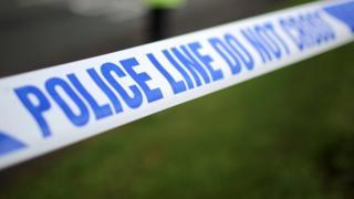 Police tape (file image)