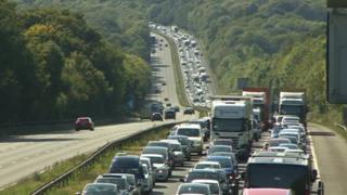 M3 traffic queue