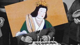 Imagen del emperador Suiko, que lideró Japón en el siglo VI y murió a los 74 años.
