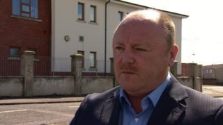 DUP councillor Frank McCoubrey