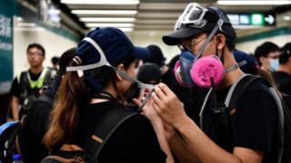 Người biểu tình Hong Kong hôm 10/8/2019