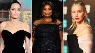 Angelina Jolie, Octavia Spencer and Jennifer Lawrence