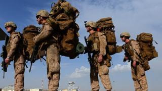 امریکايي سرتېري افغانستان کې