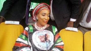 Titi Abubakar iyawo atiku abubakar