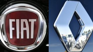 Fiat ve Renault logoları