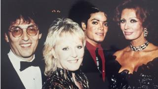 Don Black, Petula Clark, Michael Jackson, Sophia Loren