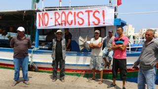 pêcheurs Tunisie