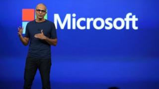 Satya Nadella, jefe de Microsoft.
