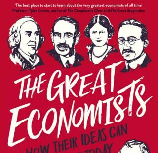 Capa do livro The Great Economists, da economista e jornalista Linda Yueh, que selecionou 12 grandes economistas que marcaram a História