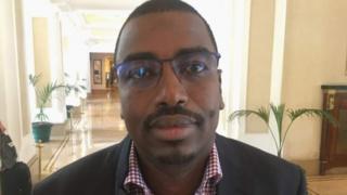 Souleiman Hassan Waberi, le président de la fédération djiboutienne de football