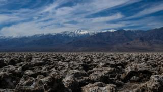 El Death Valley de California