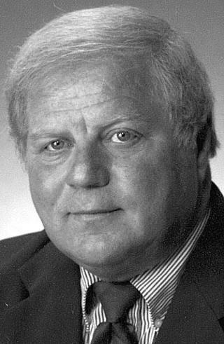 Joseph Boeckmann is shown in a black and white 2004 photo