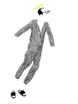 Badiucao's latest cartoon commemorating Liu Xiaobo's death, called Final Freedom
