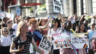 Trans Pride March in London