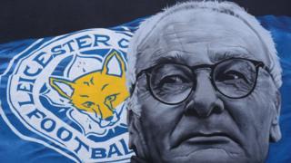 Hình tôn vinh ông Ranieri ở Leicester
