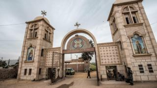 A Coptic Christian monastery in Egypt