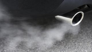 Car tailpipe