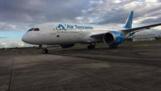 Ndege ya Boeing 787-8 Dreamliner