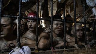 El Salvador's jails: : Where social distancing is impossible