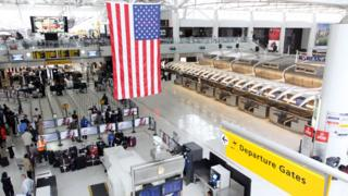 New York's John F Kennedy International Airport