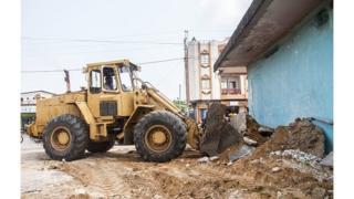 Les autorités guinéennes assurent assainir ainsi un domaine d'une dizaine de kilomètres